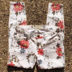 CURRENT/ELLIOTT The Stiletto Floral Jean, 25